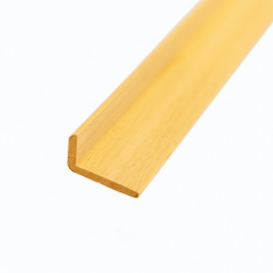 Уголок абаши 25х40 мм, бессучковый