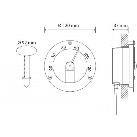 Термометр Cariitti, арт. 1545812