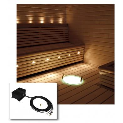 Комплект освещения сауны Cariitti с проектором VPL25 - E161 (арт. 1524008)