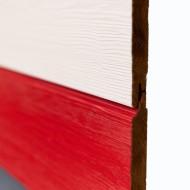Панели Фасадной системы Термо-клэддинг, брашированная термоель, 18х185 мм