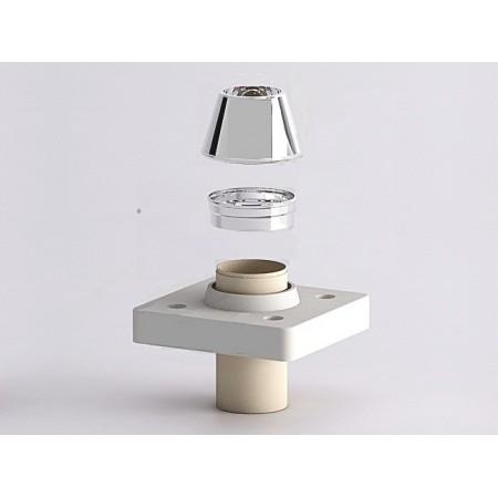 Верхний комплект под отделку 2 см Schiedel UNI D160 одноходовой без вентиляционной камеры
