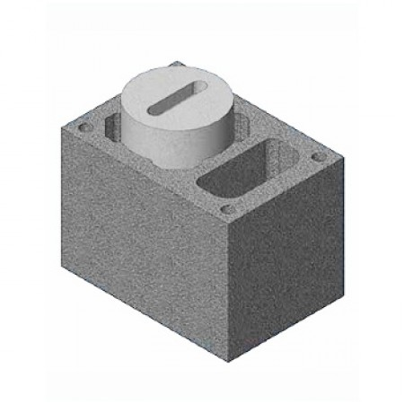 Комплект Блок-опора Schiedel UNI D140 одноходовой с вентиляционной камерой