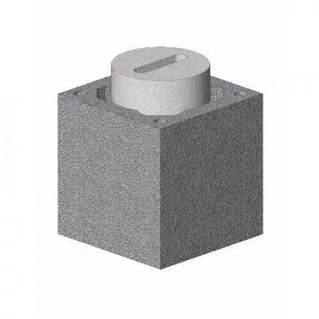Комплект Блок-опора Schiedel UNI D160 одноходовой без вентиляционной камеры