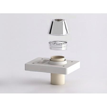 Верхний комплект под отделку 2 см Schiedel UNI D160 одноходовой с вентиляционной камерой