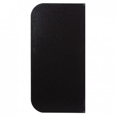 Лист притопочный, сталь, черный 400х800 мм