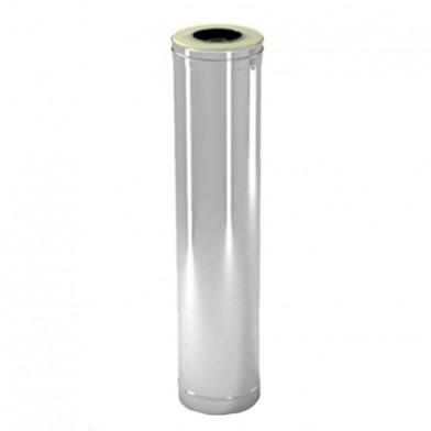 Труба дымохода утепленная (сэндвич) СДС 115/215 мм l=1000 мм