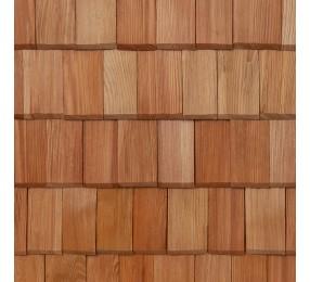 Шиндель фигурный прямоугольный №1,  пиленый, лиственница 35 см
