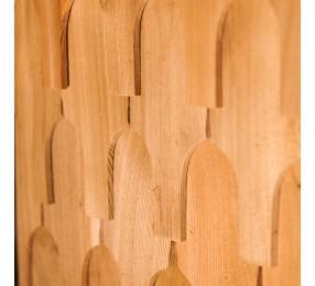 Шиндель фигурный №4,  пиленый, лиственница 35 см