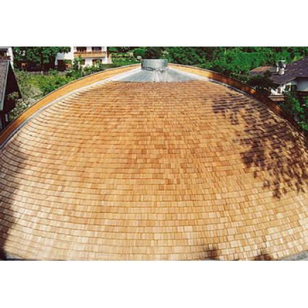 Шиндель пиленый (дранка), сибирский кедр 25 см (9 м.п.)