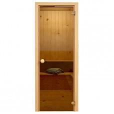 Soul Sauna 700х1870, дверь стекло бронза, коробка СОСНА (Латвия)