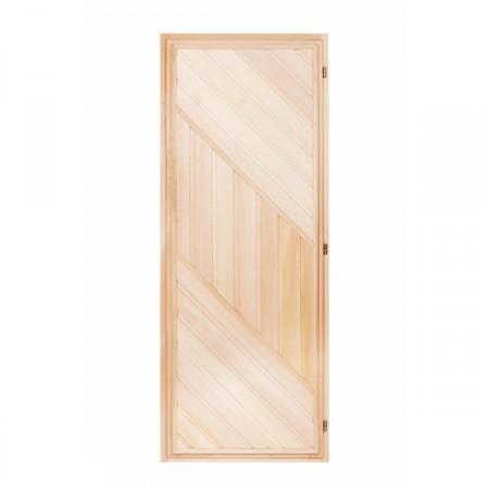 Двери из липы в баню и сауну
