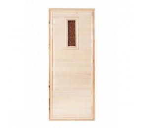 Двери из осины в баню и сауну