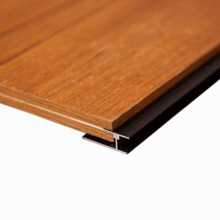Шпонированные панели, дикорастущий тик, 1200х600х16 мм
