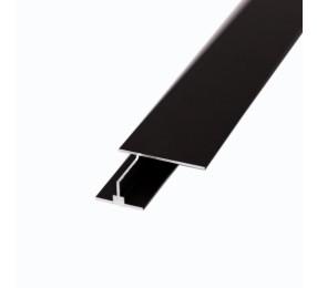 """Профиль соединительный для шпонир. панелей 16 мм, цвет - """"матовая бронза"""""""