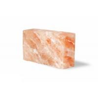 Кирпич из розовой гималайской соли, 200х100х50, шлифованный, со всех сторон