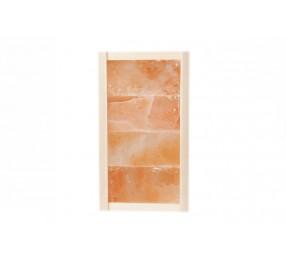 Панно 0.2 х 0.4 м, из плитки гималайской соли, шлифованной/натуральной с 1 стороны