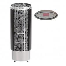 Harvia Cilindro PC70HEE - электрическая каменка с выносной панелью управления