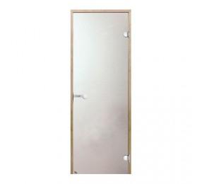 Дверь 700х1900  Harvia, стекло сатин, коробка ОЛЬХА