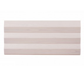 Вагонка из сосны, профиль «Бриллиант», белый ЛАК (Финляндия)