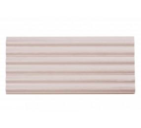 Вагонка из сосны, профиль «Волна», белый ЛАК