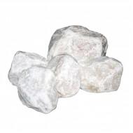 Белый кварцит, обвалованный, мелкий 20 кг