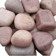 Малиновый Кварцит, галтованный, мелкий, 20 кг