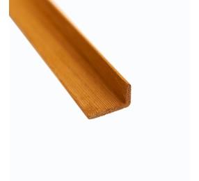Уголок, канадский кедр, 25х40 мм