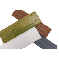 Имитация бруса 25х175 брашированная, покрытие - ЛАК