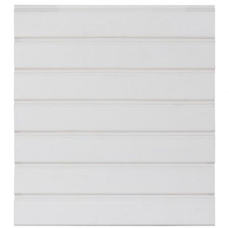 Вагонка хвоя «Карандаш», сращенная, белая ЛАЗУРЬ, 18х120 (110) сорт Экстра (Россия)