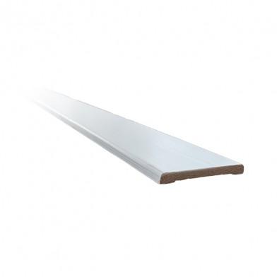 Наличник хвоя, окрашенный 90 мм, белая лазурь