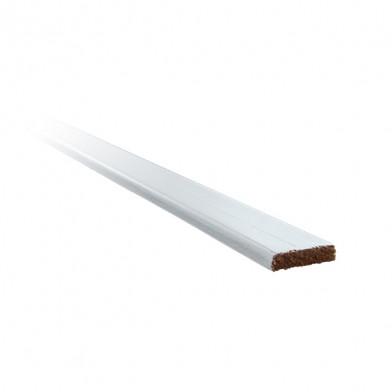 Нащельник хвоя окрашенный 30 мм, белая лазурь