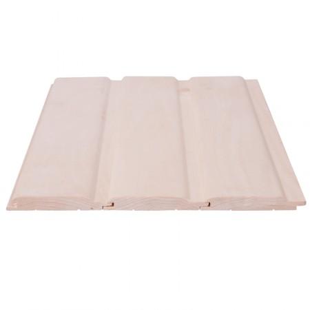 Вагонка Липа, сорт Premium, 13х100(90) мм софтлайн - 1,1 м