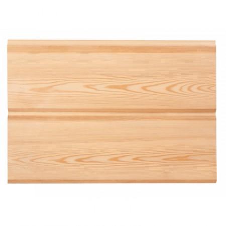 Имитация бруса, лиственница, 22х137(127) сорт Экстра - 5,1 м