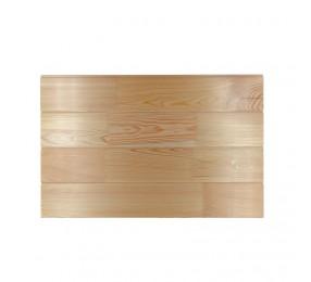 Вагонка лиственница Штиль, сорт Экстра, 14х117(110)мм, сращенная бессучковая