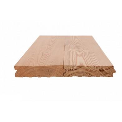 Доска пола (шпунт) лиственница, 27х135 мм (набор 154, 17,89 м2)