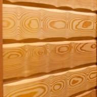 Имитация бруса из лиственницы 'Сибирь', кат. Экстра, 22х137 мм