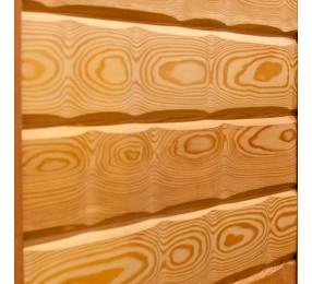 Имитация бруса из лиственницы 'Сибирь', сорт Экстра, 22х137 мм