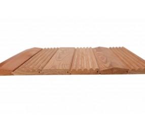 Деревянные обои «Гладкие», лиственница, Экстра