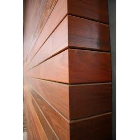 Облицовочная доска, МЕРАНТИ темно-красный 20х145 мм (Азия)