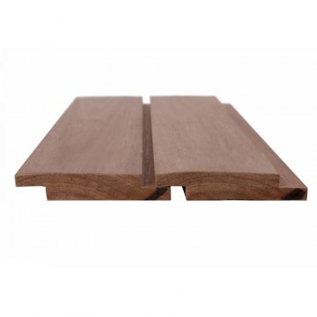 Облицовочная доска, МЕРАНТИ темно-красный 20х145 мм (Азия) - 5,4 м