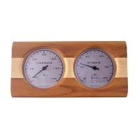 Термогигрометр NIKKARIEN (термодревесина, береза), арт. 512L
