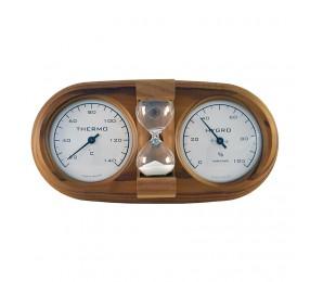 Термогигрометр NIKKARIEN «3 в 1» с песочными часами, арт. 591L