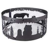 Кольцо Firecup для костра «Ежик в тумане», диаметр 64 см