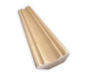 Плинтус фигурный ольха 15х43 мм
