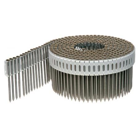 Комплект 1 профессионального инструмента PASLODE (Пневмопистолет IM90Ci беспроводной, гвозди ершеные, шурупы А2)