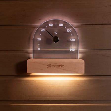 Термометр PREMIO с подсветкой, арт. 630