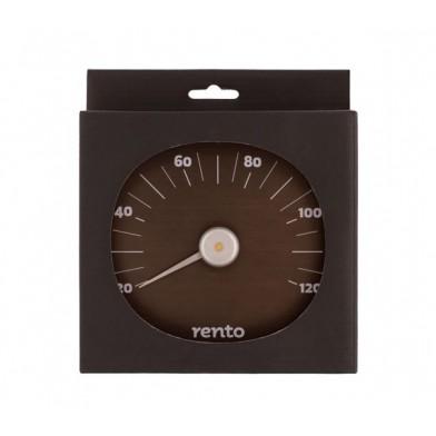 Алюминиевый термометр для сауны RENTO CACAO