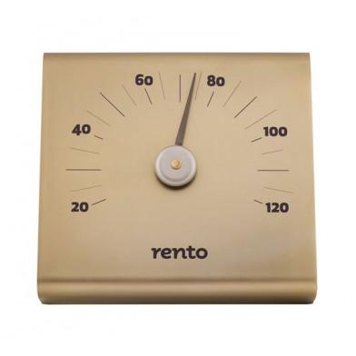 Алюминиевый термометр для сауны RENTO CHAMPAGNE