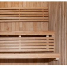 Комплект готовых полок Thermory, термоосина (полок 60 см, решетка)