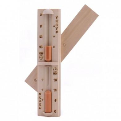 Часы песочные, SAWO 550-A (осина)